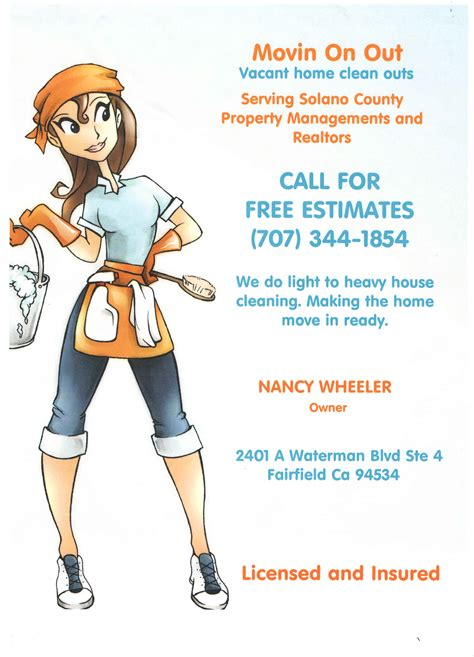 house cleaners house cleaning free printable house cleaning flyers