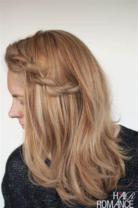 fringe braids fix your frizzy fringe with this easy rope braid tutorial