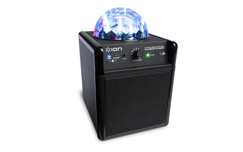 portable speaker with lights party power portable speaker system with party lights