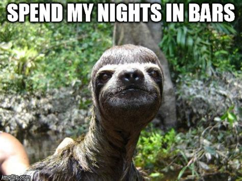 Dragon Sloth Meme - creepy sloth meme generator image memes at relatably com