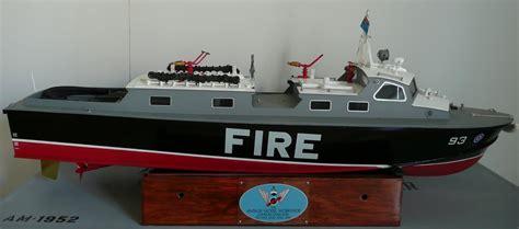 model boat vents the vosper raf crash tender kit 46