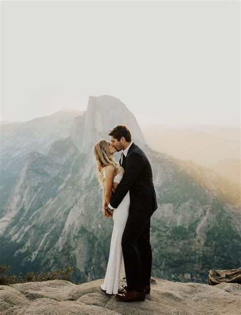 Yosemite Wedding by Yosemite Wedding With A Stunning Look At Glacier