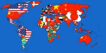 World S Largest Map by 191 De D 243 Nde Llegan M 225 S Mercanc 237 As Un Mapa Revela Los