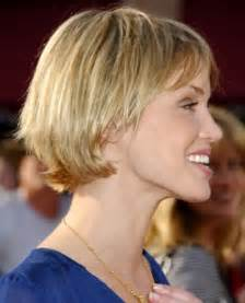 easy to care for hairstyles short layered bob hairstyles for fine hair