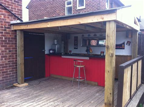 Pub Shed by Elmos Place Paul Ellis Garden On Decking