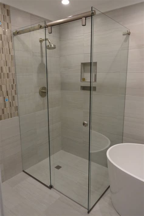 corner shower doors frameless hydroslide shower doors shower door experts