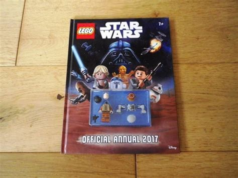 Buku Lego Wars Official Annual 2017 lego wars official annual 2017 with 2 minifigures
