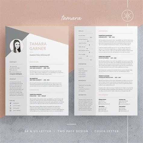 photoshop resume template word tamara resume cv template word photoshop indesign professional resume design cover