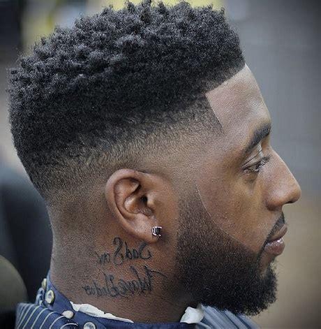 coupe de cheveux homme noir dégradé