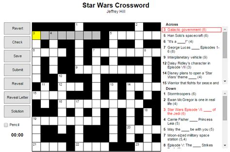 printable crossword puzzle star wars all worksheets 187 star wars worksheets printable