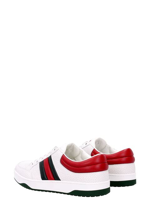 sell sneakers sneakers gucci leather white 407330def309083 ebay