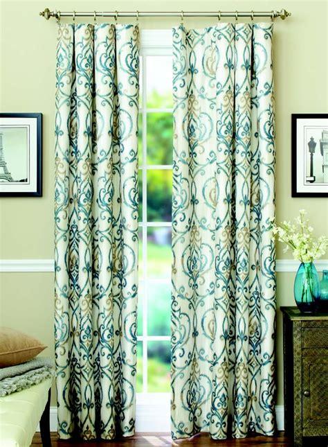 ikat curtain better homes and gardens ikat scroll curtain panel sleep