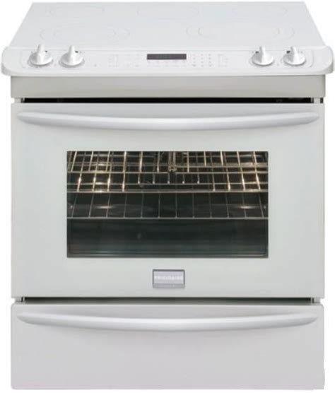 frigidaire fges3065kw gallery series slide in smoothtop
