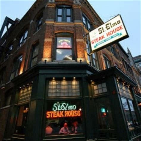 St Elmo Steak House Indianapolis In by St Elmo Steak House Stelmo