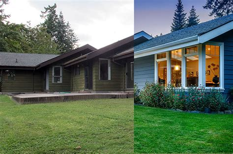 3 Dramatic Exterior Renovations: Before and After   Modern