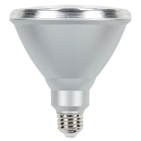 Led Light Bulbs Par38 Westinghouse 90w Equivalent Daylight Par38 Dimmable Led Flood Light Bulb 5007000 The Home Depot