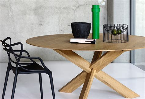 Attrayant Table De Cuisine Avec Rallonges #5: Table-ethnicraft-bois-teck-chene-noyer-rallonges-vente-mode-contemporain-design-circle-table-ronde.jpg
