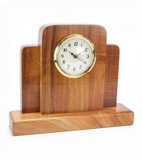 office desk clock koa mini deco desk clock clocks home office accents