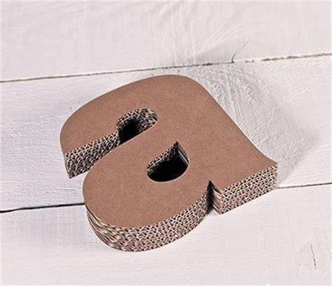 lettere minuscole lettere minuscole in cartone per le decorazioni