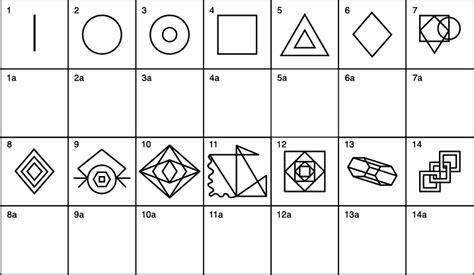 pattern visualization test visual perception test www pixshark com images