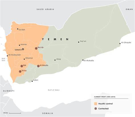 overview   conflict  yemen  maps sustgcom