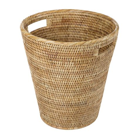 waste basket buy baolgi rattan waste basket natural amara