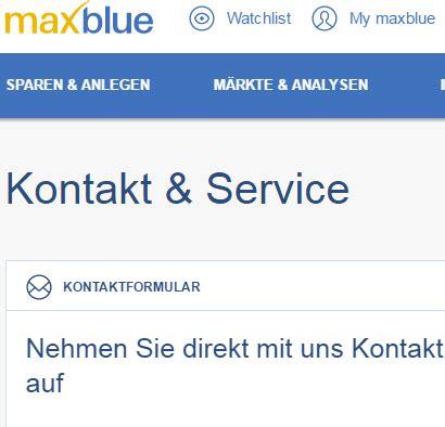 liste deutscher banken maxblue investment plattform deutsche bank