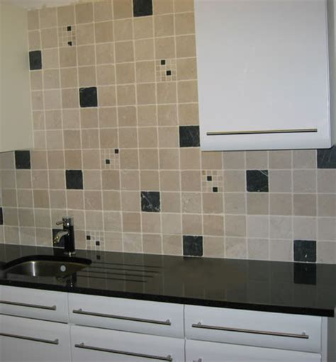 Kitchen Tiles   Nero Marquina Marmol Wall Tile   Black