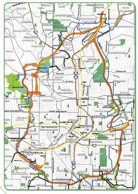 atlanta beltline map walkable neighborhoods atlanta s beltline hatch the design 174