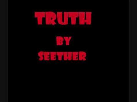 seether truth seether lyrics playlist