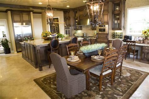 open dining kitchen area bar design 39 fabulous eat in custom kitchen designs