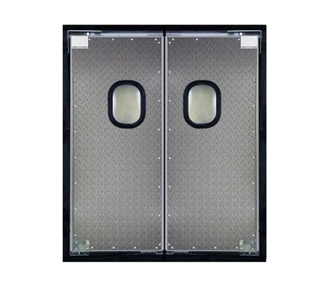 commercial swinging door heavy duty swinging doors carlson traffic doors