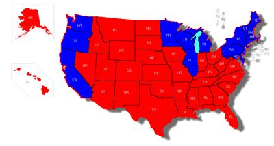 us map of republican and democratic states 2014 if you promote low wages and cut taxes on the rich your