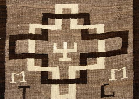 Navajo Runner Rug Vintage Pictorial Navajo Runner Rug Circa 1935 For Sale At 1stdibs
