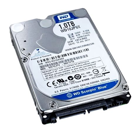 Harddisk Notebook laptop drive western digital 1 tb 2 5 quot sata