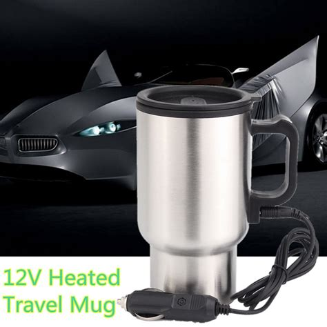 Sa Idealife Automatic Electric Kettle 2 Cups Included Il 100n 12v 450ml stainless kettle car cup pot water auto electric heater with cable alex nld