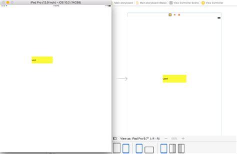 enable layout xcode ios ipad application disable autlolayout xcode 8 stack