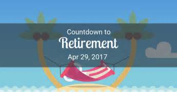 search results for retirement countdown calendar