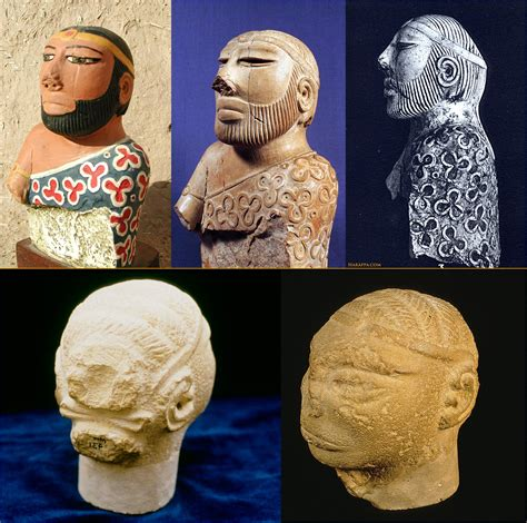 Ancient Indus Men S Hairstyles