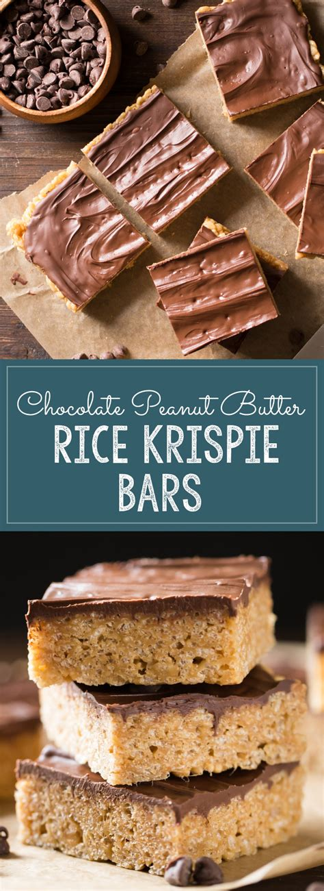 peanut butter rice krispie bars with chocolate topping chocolate peanut butter rice krispie bars lovely little