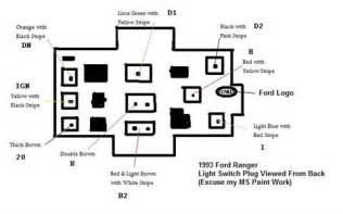 solved: head light switch wire diagram 1995 f350 fixya