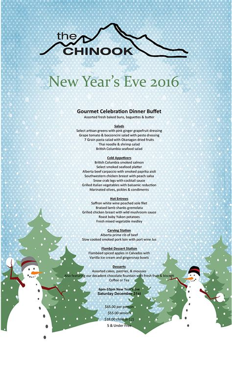 putien new year menu 2016 taxi mike s guide to new year s in banff canada