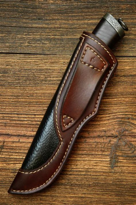Galerry custom leather knife sheath patterns
