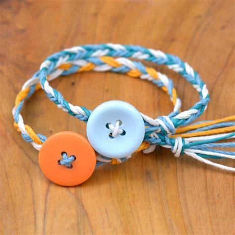 How To Make Handmade Friendship Bracelets - ultra easy friendship bracelets happy hour projects