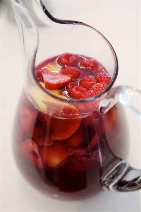 summer fruit sangria recipe dishmaps