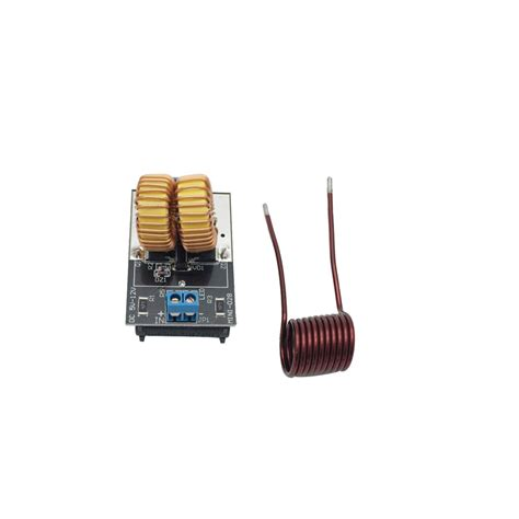 zvs induction heating power supply module with coil 5v 12v zvs induction heating power supply tesla driver board module coil new in inductors from