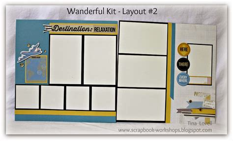 scrapbook layout guide scrapbooking kits scrapbook layout cutting guides