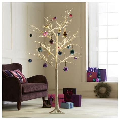 buy pre lit white twig 6ft christmas tree tesco from our