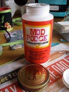 Decoupage Sealer Recipe - in rehab decoupage medium