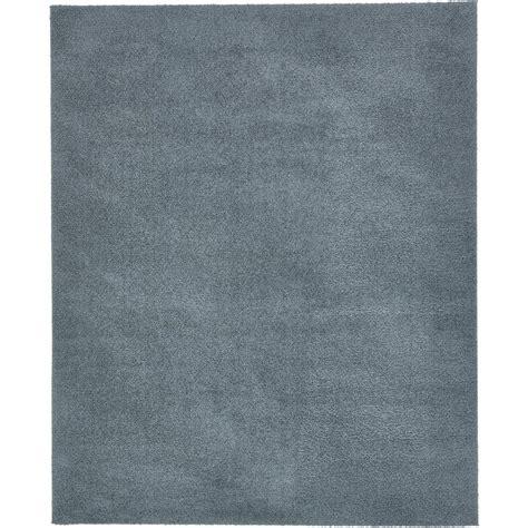 10 X 12 Area Rug Blue Slate - unique loom solid shag slate blue 8 ft x 10 ft area rug